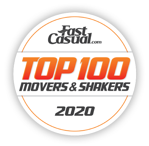 Fazoli's is one of Fast Casual's Top 100 Movers & Shakers for 2020!